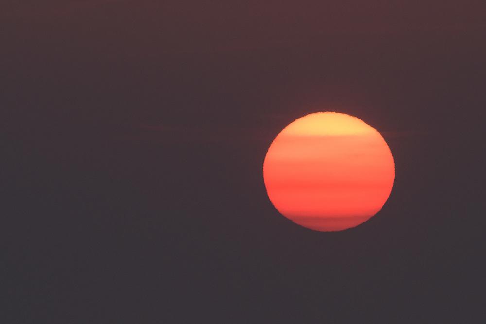 Sunset over Laggan Bay, Islay, Scotland