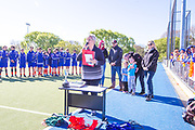 U15 PREMIER BOYS HOCKEY <br /> Presentation V Ceremonies<br /> Group Shots<br /> 20181006<br /> Photo by Kevin Clarke CMG SPORT ACTION IMAGES<br /> ©cmgsport2018