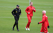 Marc Janko (middle) during Austria training camp ahead of Euro 2016 at Raiffeisen Arena Crap Gries, Schluein<br /> Picture by EXPA Pictures/Focus Images Ltd 07814482222<br /> 23/05/2016<br /> ***UK &amp; IRELAND ONLY***<br /> EXPA-RIN-160523-0193