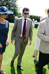 TIM HENMAN at the 3rd day of the 2013 Glorious Goodwood racing festival - Ladies day at Goodwood Racecourse, West Sussex on 1st August 2013.
