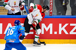 Andra Benk of Hungary during ice hockey match between Kazakhstan and Hungary at IIHF World Championship DIV. I Group A Kazakhstan 2019, on May 5, 2019 in Barys Arena, Nur-Sultan, Kazakhstan. Photo by Matic Klansek Velej / Sportida