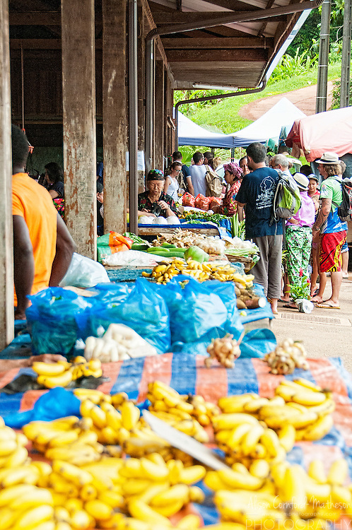The Sunday Market in Cacao village in French Guiana is run by Hmong villagers who emigrated from Loas in the 1970s to South America.