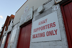 A general view of the Away turnstiles at Leyton Orient, Brisbane Road - Photo mandatory by-line: Dougie Allward/JMP - Mobile: 07966 386802 - 03/03/2015 - SPORT - football - Leyton - Brisbane Road - Leyton Orient v Bristol City - Sky Bet League One
