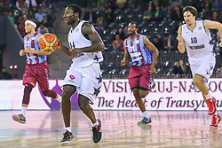 baschet masculin: U Banca Transilvania Cluj - Trabzonspor Medical Park 80-81 (40-31, 70-70), in grupa F a FIBA Eurochallenge, acesta fiind primul meci la nivel de cupe europene în noua Sală Polivalentă din Cluj-Napoca, de 7.200 de locuri | © FOTO: Mircea Rosca / www.ActionFoto.ro