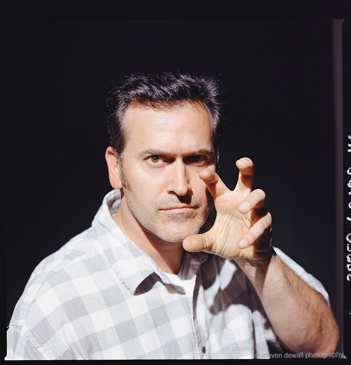 Actor and writer Bruce Campbell