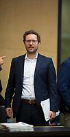 DEU, Deutschland, Germany, Berlin, 21.09.2018: Der neue Umweltminister von Schleswig-Holstein, Jan Philipp Albrecht (Die Grünen), bei seiner ersten Sitzung im Bundesrat.
