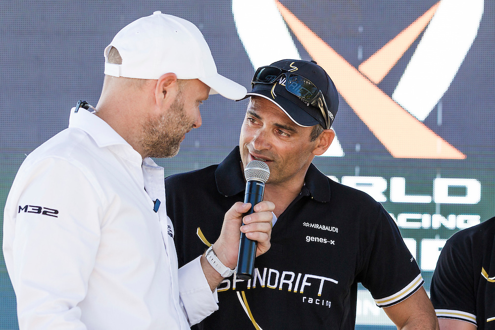 7th March 2016. Fremantle, WA. World Match Racing Tour. Yann Guichard