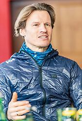 11.01.2019, Hahnenkamm, Kitzbühel, AUT, FIS Weltcup Ski Alpin, Schneekontrolle durch die FIS, im Bild Mario Mittermayer-Weinhandl (HKR Rennleiter) // Mario Mittermayer-Weinhandl race direktor HKR during snow control by the FIS at the Hahnenkamm in Kitzbühel, Austria on 2019/01/11. EXPA Pictures © 2019, PhotoCredit: EXPA/ Stefan Adelsberger