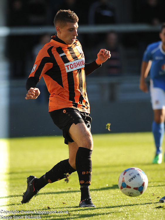 Adam Mekki, Barnet FC, Barnet v Eastleigh, Vanarama Conference, Saturday 4th October 2014