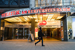 Theater am Kurfurstendamm on famous shopping street Kurfurstendamm , Kudamm, in Berlin, Germany.