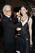 NEW YORK - NOVEMBER 11:(US TABS AND HOLLYWOOD REPORTER OUT) Photographer Richard Avedon and director Sophia Coppola attend the Americans For The Arts 8th Annual National Arts Awards Gala at the Mandarin Oriental Hotel  November 11, 2003 in New York City.   (Photo by Matthew Peyton)