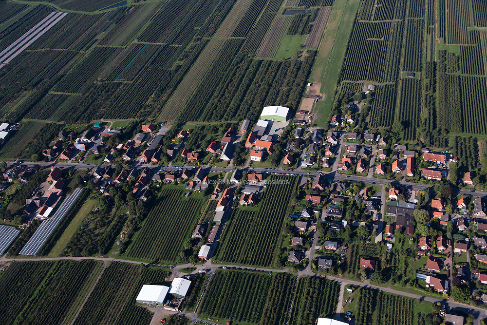 Altes Land in Jork, Germany is the biggest contiguous fruit-producing region in Central Europe 2012.