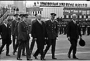 Belgian Royal Visit - King Baudouin and Queen Fabiola depart from Dublin Airport after their three-day state visit to Ireland..17.05.1968
