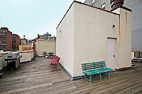Roof Deck at 219 west 80th St