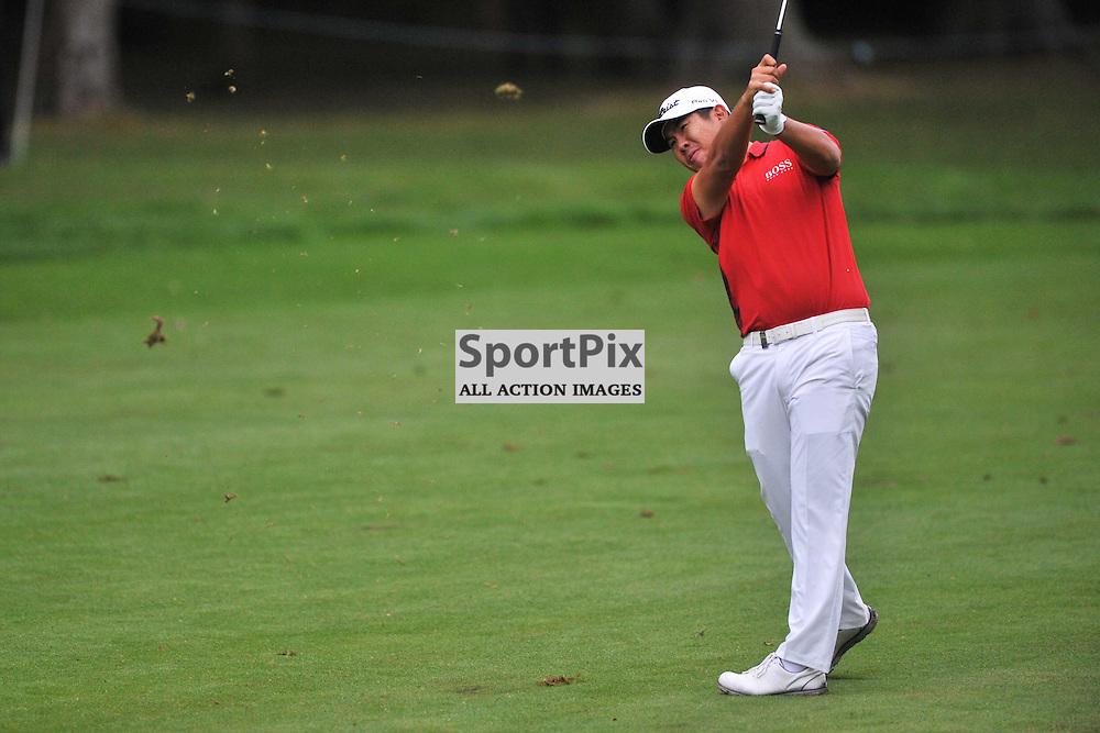 Byeong Hun An Korea, British Masters, European Tour, Woburn Golf Course Friday 9th October 2015.