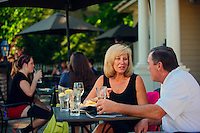 Tourism photography for Abingdon, Virginia, featuring, kayaking, shopping, dinning and a festival
