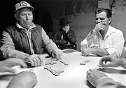 A serious game for locals at a domino parlor in Skiatook, OK.