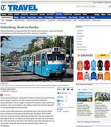 Telegraph Gothenburg travel