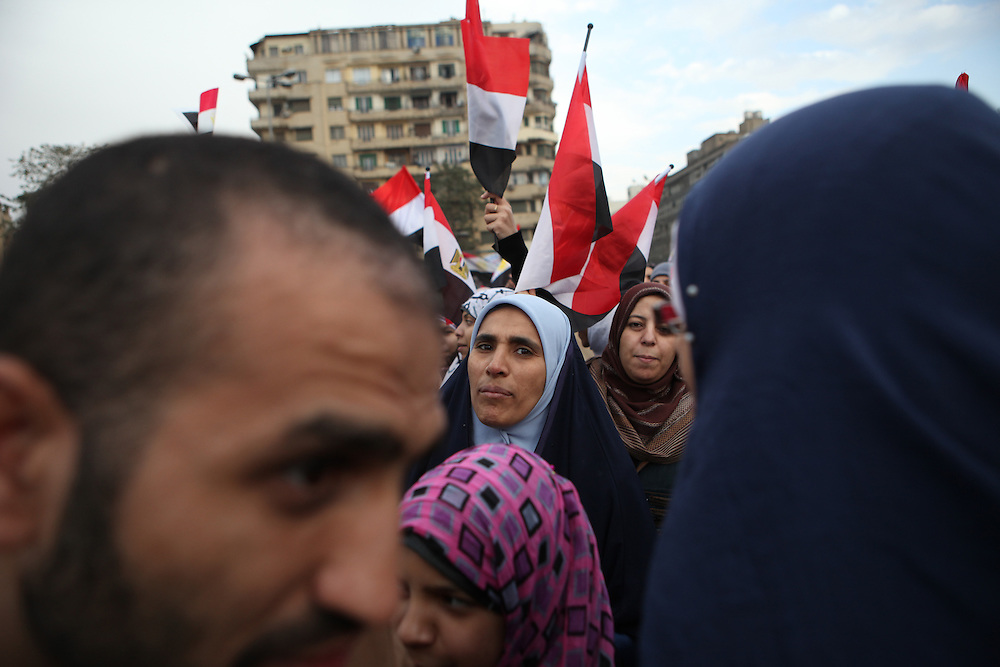 "On ""Sunday of the martyrs"" at Tahrir Square, Egyptians call for the ouster of President Hosni Mubarak and commemorate the death of more than 300 people killed in clashes with government forces. ."