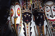 Masks, Madang, Papua New Guinea<br />