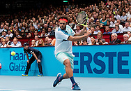 Jo-Wilfred Tsonga during the final of the Erste Bank Open at Wiener Stadthalle, Vienna, Austria.<br /> Picture by EXPA Pictures/Focus Images Ltd 07814482222<br /> 30/10/2016<br /> *** UK &amp; IRELAND ONLY ***<br /> EXPA-PUC-161030-0342.jpg