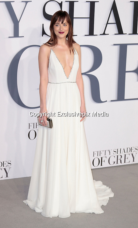 Feb 12, 2015 - 'Fifty Shades of Grey' UK Premiere - Red Carpet Arrivals at Odeon, Leicester Square<br /> <br /> Pictured: Dakota Johnson<br /> ©Exclusivepix Media