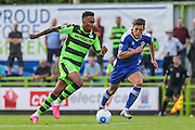 Forest Green Rovers Keanu Marsh-Brown (7) on the ball during the Vanarama National League match between Forest Green Rovers and Gateshead at the New Lawn, Forest Green, United Kingdom on 13 August 2016. Photo by Shane Healey.