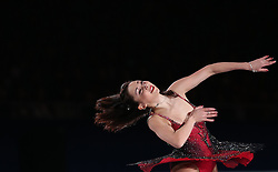 Ladies gold medalist Elizaveta Tuktamysheva of Russia performs during an exhibition program at the ISU World Figure Skating Championships at Shanghai Oriental Sports Center in Shanghai, China, 29 March 2015.