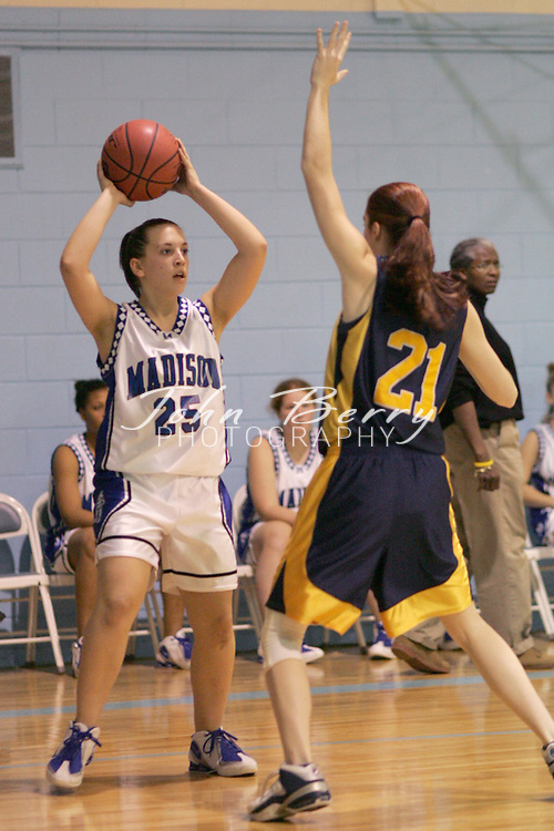 Page Tournament..Varsity Girls vs Rappahannock..Third Period..December 29, 2004