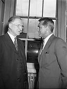 Cary Grant visits An Taoiseach .18/07/1958 .