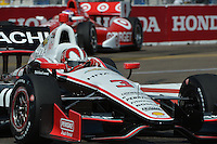 Helio Castroneves, Honda Grand Prix of St. Petersburg, Streets of St. Petersburg, St. Petersburg, FL USA 03/24/13