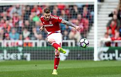 Adam Clayton of Middlesbrough - Mandatory by-line: Robbie Stephenson/JMP - 19/03/2017 - FOOTBALL - Riverside Stadium - Middlesbrough, England - Middlesbrough v Manchester United - Premier League