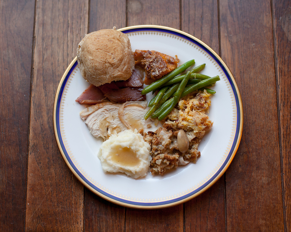 Thanksgiving Lunch: Turkey, Ham, Mashed Potatoes, Stuffing, Sweet potato casserole, and greenbeans at Winterside (pricele$$) - OFF: TGIVIN'
