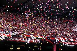 Rio de Janeiro, Rio de Janeiro, Brasil..Torcida do Flamengo em jogo de futebol no Maracana, Fla x Flu./ Flamengo soccer team fans at Maracana stadium.Flamengo x Fluminense match.Foto ©Marcos Issa/Argosfoto.www.argosfoto.com.br