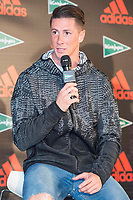 Fernando Torres attends to presentation of new Athletics Z.N.E. Pulse by Adidas in Madrid, Spain September 28, 2017. (ALTERPHOTOS/Borja B.Hojas)
