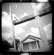 Church series, taken with Holga