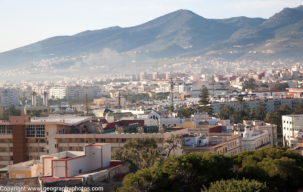 Melilla autonomous city state Spanish territory in north Africa, Spain