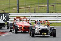 #18 Daniel Bremner Caterham Tracksport during the Avon Tyres Caterham Tracksport Championship at Oulton Park, Little Budworth, Cheshire, United Kingdom. August 13 2016. World Copyright Peter Taylor/PSP.