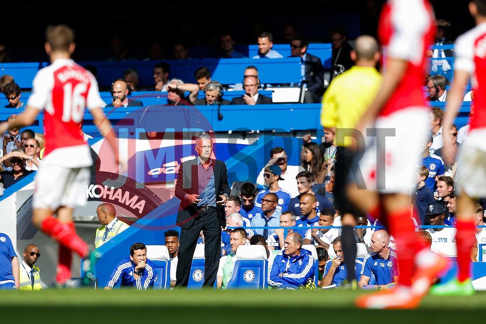 Chelsea Manager Jose Mourinho - Mandatory byline: Rogan Thomson/JMP - 07966 386802 - 19/09/2015 - FOOTBALL - Stamford Bridge Stadium - London, England - Chelsea v Arsenal - Barclays Premier League.