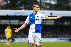 Billy Bodin of Bristol Rovers appeals - Rogan Thomson/JMP - 31/12/2016 - FOOTBALL - Memorial Stadium - Bristol, England - Bristol Rovers v AFC Wimbledon - Sky Bet League One.