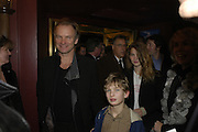 Sting, Mary Poppins Gala charity night  in aid of Over the Wall. Prince Edward Theatre. 14 December 2004. ONE TIME USE ONLY - DO NOT ARCHIVE  © Copyright Photograph by Dafydd Jones 66 Stockwell Park Rd. London SW9 0DA Tel 020 7733 0108 www.dafjones.com