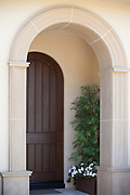 Old World Style Front Entryway Custom Built Home