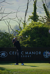 03.06.2010, Celtic Manor Resort and Golf Club, Newport, ENG, The Celtic Manor Wales Open 2010, im Bild Jarmo Sandelin (SWE) playing a shot. EXPA Pictures © 2010, PhotoCredit: EXPA/ M. Gunn / SPORTIDA PHOTO AGENCY