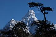 Mt Amadablam, Himalayas, Nepal. Image by Greg Beadle