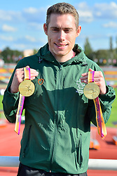 Paralympics Ireland Medalist Jason Smyth, T13, IRE at the Berlin 2018 World Para Athletics European Championships