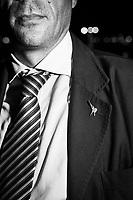 CATANIA (CT) - 8 SETTEMBRE 2018:  Fabio Cantarella, il primo assessore leghista nella storia della Sicilia, in posa presso il lungomare di Catania  l'8 settembre 2018.