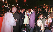 Isabella Blow, Colin Mcdowell,Anna Wintour and Hamish Bowles amongst others.  Philip Treacy fashion show. 21/2/99. © Copyright Photograph by Dafydd Jones<br />