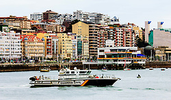 Police launch in Santander Bay, Spain<br /> <br /> (c) Andrew Wilson | Edinburgh Elite media
