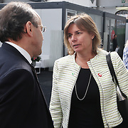 20160615 - Brussels , Belgium - 2016 June 15th - European Development Days - Bilateral Meeting <br /> Isabella L&ouml;vin, Minister for International Development Cooperation and Climate, and Deputy Prime Minister<br /> &copy; European Union
