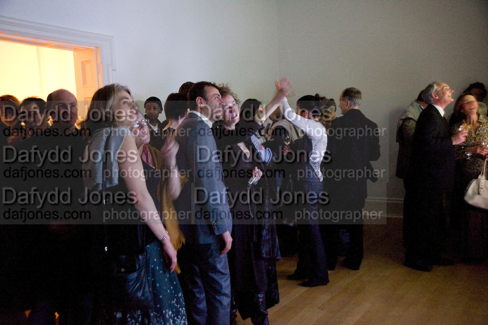 KUTLUK ATAMAN; ANGELA JACKSON, fff. Video instalation by Kutluk Ataman. Thomas Dane Gallery, Duke st. Afterwards at Ivor Braka's house. Chelsea. London. 12 March 2009
